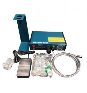 China 983A Liquid Glue Dispenser Machine , Glue Dispensing Equipment In Blue Color wholesale