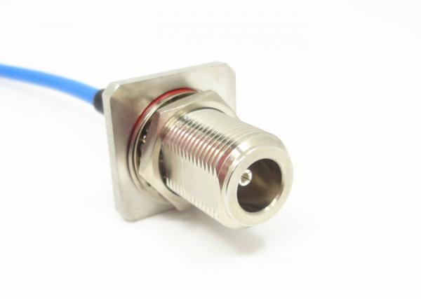 Quality RG141 RF Cable Assemblies N Type Male to N Type Male RF Coaxial Connector for sale