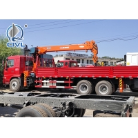 China SINOTRUK Truck Mounted Crane  16Ton /16000KG  Knuckle Truck Crane wholesale