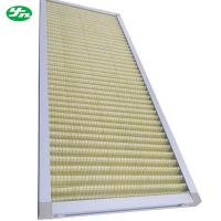 China Non Woven Primary Air Filter , Standard Pleated Air Filters Size Customized wholesale