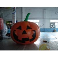 Buy cheap Inflatable Vegetable Shaped Balloons , Air Tight 2.5m Inflatable Pumpkin from wholesalers