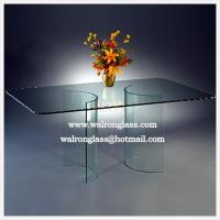 China outdoor glass table top on sale