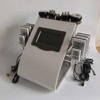 China rf probe Touch Screen Laser Lipo Cavitation Machine Frequency 5MHz 100KPA Pressure wholesale