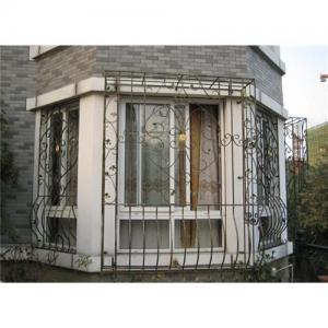 Decorative Wrought Iron Window