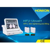 China Skin Rejuvenation / Body Shaping HIFU High Intensity Focused Ultrasound Machine wholesale