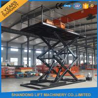 China Hydraulic Car Lift China Professional manufacturer car elevator price With CE wholesale
