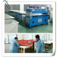 China Hydraulic Four Column Rubber Sponge Cutting Machine  40t Hydraulic Textile Cutting on sale