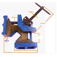 China Cast Iron Woodworking Welding Right Angle Corner Clamp wholesale
