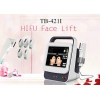 China Focused Ultrasound HIFU Wrinkle Removal Face Lifting Beauty Equipment With Head Over 10,000 Shots wholesale