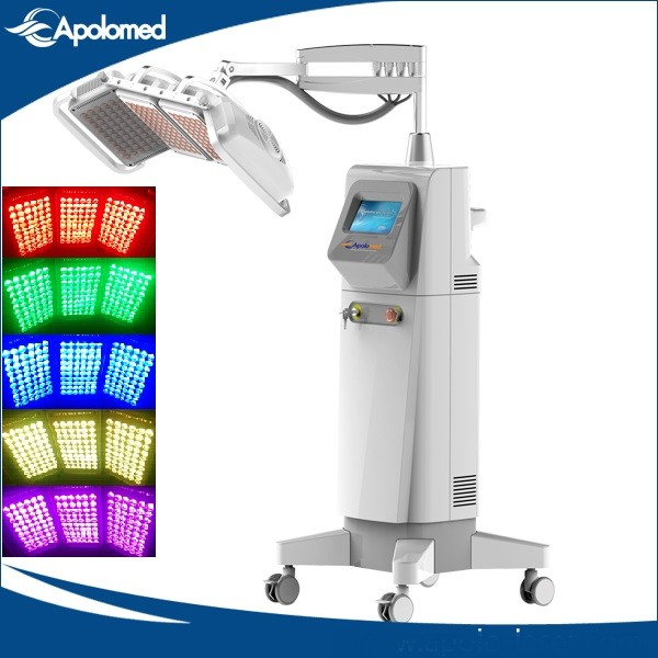 Quality Apolomed PDT LED RGB Red Blue Light Therapy For Anti aging Sensitive Skin Care for sale