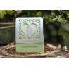 Green Laser Cut Cardboard Candy Boxes 9.5*7.7*3.9cm Sugar Decoration