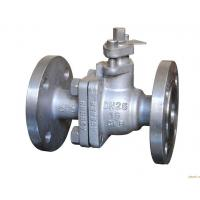 China Rustproof Stainless Steel Ball Valve WCB Natural Gas Flanged Ball Valve on sale