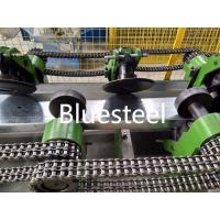China Steel Profile C Z Shape C Channel Purlin Roll Forming Machine With Pre - Cutting wholesale