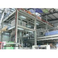 China 200KW 2400mm Double beams nonwoven fabric making machine for Operation Suit wholesale