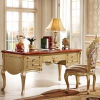 Buy cheap Bedroom Furniture Antique Home Office Wood Desk from wholesalers
