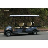 China Electric Six Passenger Golf Cart With 48V Battery For Sightseeing CE Approved wholesale