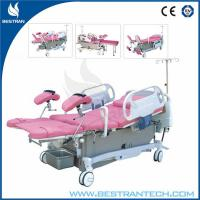 China Remote Controller Electric Obstetric Delivery Bed Castor Diameter 150mm wholesale