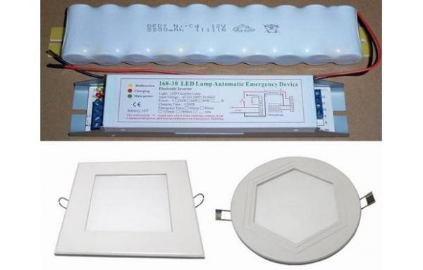 Quality 2700-6500K 1200-1300Lm Emergency LED Panel Light , led circular panel lights for sale