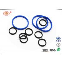 China Bouncy Rubber O Rings Flat Washers / Gaskets 30 Degree - 90 Degree Hardness wholesale