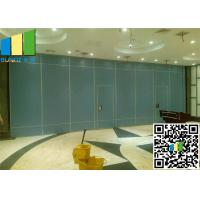 China Folding partition wall divider system Ebunge new aluminum profile for office on sale