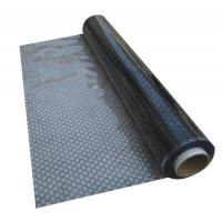 China Black Anti Static Products , Rubber esd grid curtain 1.37m Width for workshop wholesale