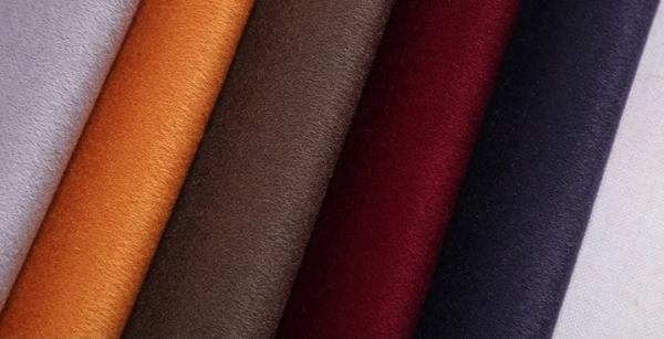 Quality Plain Double Faced Wool Fabric 100% Wool Coating Fabric Multiple Colors for sale
