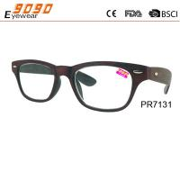 China 2017 new design reading glasses ,made of PC frame,suitable for women and men wholesale