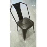 China High Durability Modern Metal Dining Chairs For Bedroom / Kitchen / Living Room wholesale
