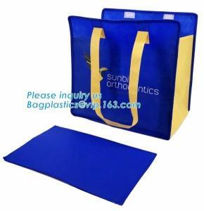 China Heat seal reusable bag/ customized new design eco-friendly non woven bag/ pink nonwoven shopping bag, bagplastics, bagea wholesale