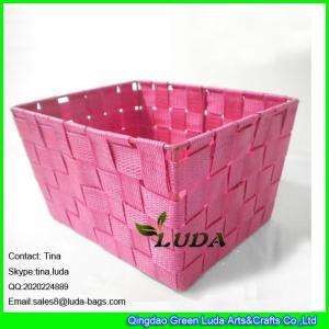LDKZ-001 fashion home decoration storage bin pp yard storage box