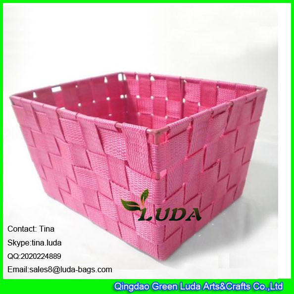 Quality LDKZ-001 fashion home decoration storage bin pp yard storage box for sale