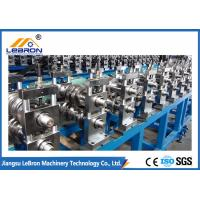 China Custom Full Automatic Aluminum Cable Tray Roll Forming Machine Mitsubishi brand PLC control system wholesale