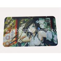 China Official Custom Yugioh Playmat / Rubber Card Game Mat For Girl wholesale