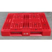 China Durable Cold Room Food Grade Storage Plastic Pallet With Steel Tube wholesale