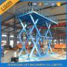 China Hauteur de levage maximum hydraulique stationnaire de l'ascenseur 5M de ciseaux d'entrepôt résistant de la CE 5T wholesale