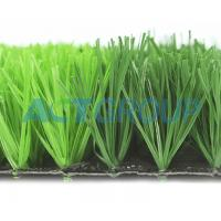 PE Monofilament Artificial Football Turf Fake Grass Durable Environmental Friendly