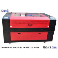 China Red Protective Cover CO2 Laser Cutter , CNC Laser Cutting Machine For Acrylic wholesale