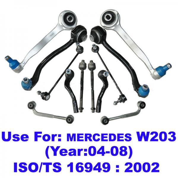 Side rod control arm images for Spare parts mercedes benz