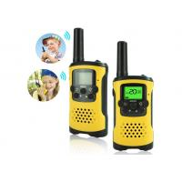 China 8-22 Channels Toddler Walkie Talkie Toys Cute Different Color For 9 Year Olds wholesale