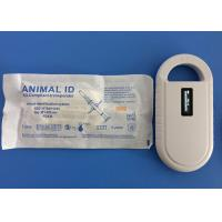 China ICAR Animal ID Microchip 134.2KHz , Identity Chip For Dogs Tracking wholesale