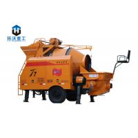 Buy cheap Mobile / Strong Powerful Concrete Mixer Pump High Work Efficiency Save Labor from wholesalers