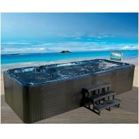 Freestanding Installation Swim Spa Tub 12 Person Balboa Control System