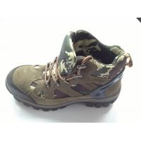 China Navy Camouflage Heavy Duty Work Shoes With Air Mesh Lining on sale