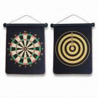 China Safe Dart Boards, Available in Various Colors, Made of Silk Smooth Cloth, OEM Orders are Welcome wholesale