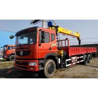 China 180/2200 Kw Max Power Dongfeng Used Crane Truck 6X4 Drive Mode 2013 Year wholesale