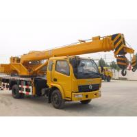 China 25 Ton Straight Telescopic Boom Truck Crane for Mining Engineering / Landscaping on sale