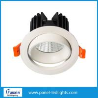 China Cutsize 75mm Adjustable Hotel down light IP20 D85mm Hot Sale 5w 7w 8w 9w 11w 12w Recessed round Led ceiling light wholesale