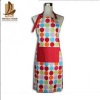 China Custom Colored Home Cooking Cotton Kitchen Apron 70 x 80cm 250gsm Bbq Apron wholesale
