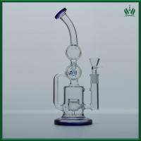 China 10 Inches Dab bong Oil Rig Glass Bong Glass Oil Burner Pipe Glass Water Bubblers on sale