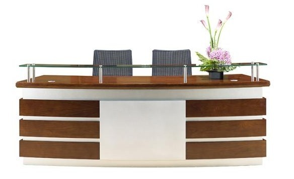 Office Counter : Office Counter Table : Modern Reception Desk